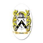 Rooke 20x12 Oval Wall Decal