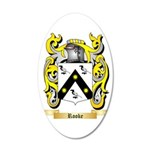 Rooke 35x21 Oval Wall Decal
