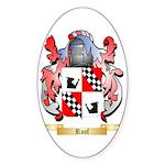 Roof Sticker (Oval 50 pk)