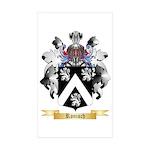 Ronisch Sticker (Rectangle 10 pk)
