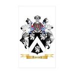 Ronisch Sticker (Rectangle 50 pk)
