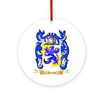 Roney Round Ornament