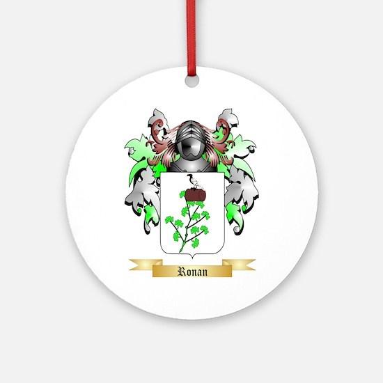 Ronan Round Ornament