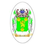 Ronald Sticker (Oval 10 pk)