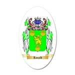 Ronald 20x12 Oval Wall Decal