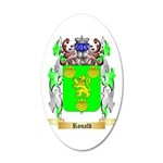 Ronald 35x21 Oval Wall Decal