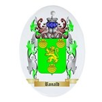 Ronald Oval Ornament