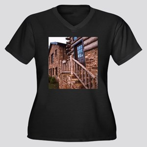 WOODEN STAIRS Plus Size T-Shirt