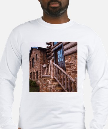 WOODEN STAIRS Long Sleeve T-Shirt
