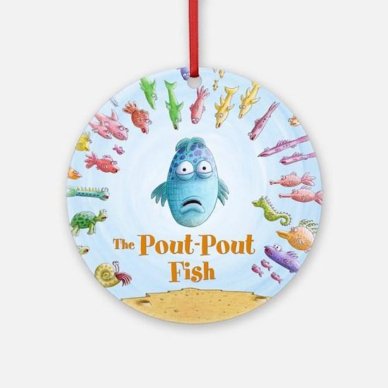 Pout-Pout Fish Ornament (Round)