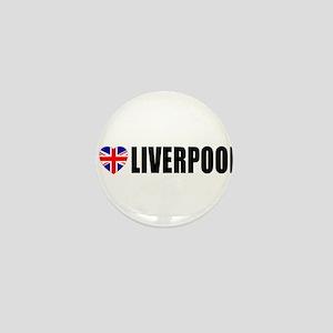 I Love Liverpool Mini Button