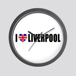 I Love Liverpool Wall Clock