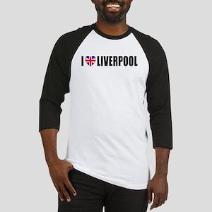 I Love Liverpool Baseball Jersey