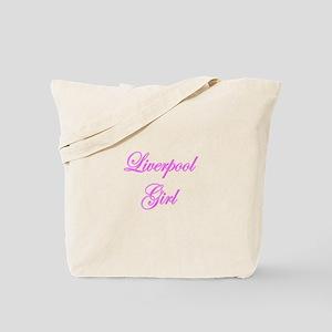 Liverpool Girl Tote Bag