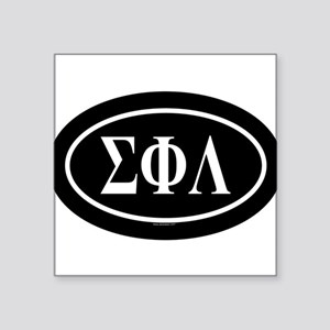 SIGMA PHI LAMBDA Oval Sticker