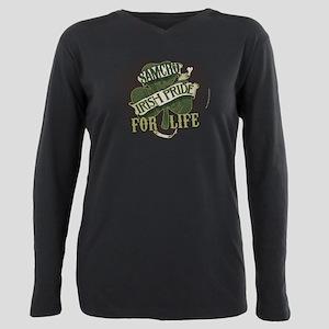 SOA Irish Pride for Life Plus Size Long Sleeve Tee