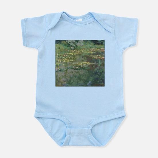 Waterlilies by Claude Monet Body Suit
