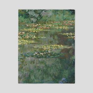Waterlilies by Claude Monet Twin Duvet