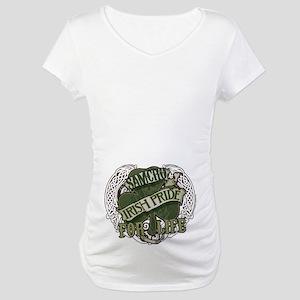 SOA Irish Pride for Life Maternity T-Shirt