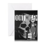 Don't Mix Them-Gas & Whiskey Greeting Cards (Packa