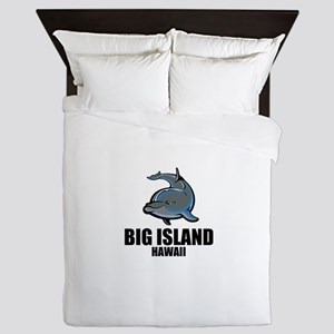Big Island, Hawaii Queen Duvet