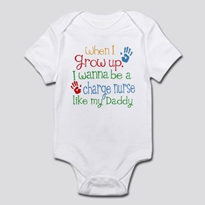 Charge Nurse Like Daddy Infant Bodysuit