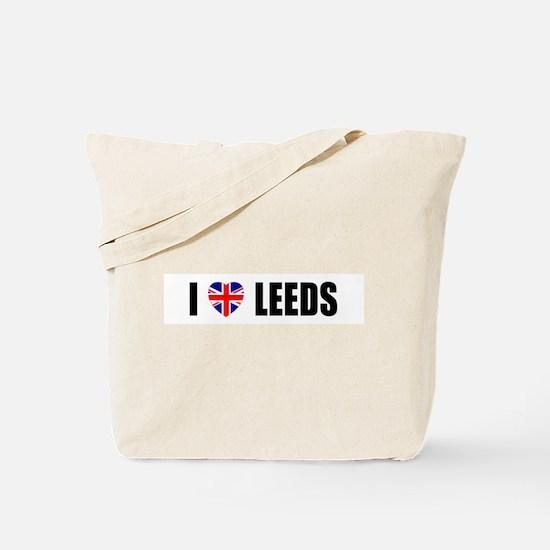 I Lvoe Leeds Tote Bag