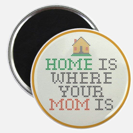 Home Is Where Your Mom Is Magnet