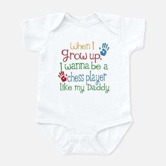 Chess Player Like Daddy Infant Bodysuit