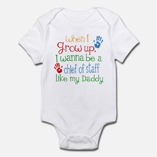 Chief of Staff Like Daddy Infant Bodysuit