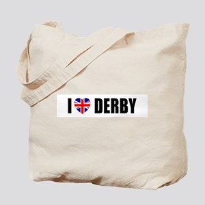 I Love Derby Tote Bag
