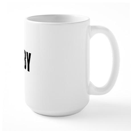 I Love Derby Large Mug
