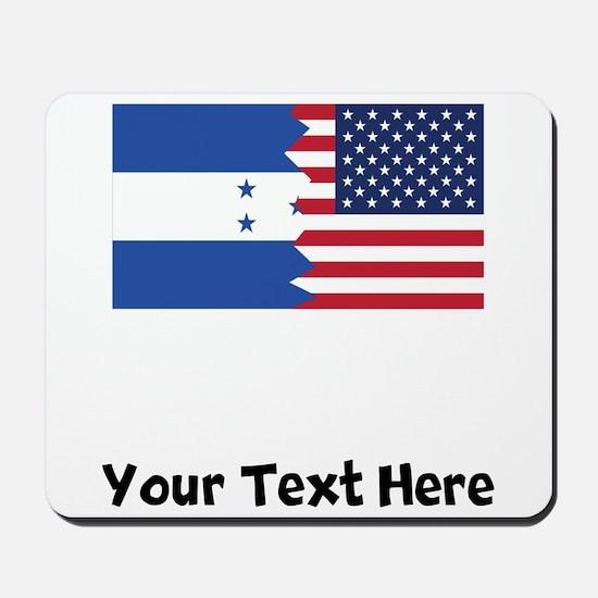 Honduran American Flag Mousepad
