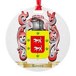 Romeu Round Ornament