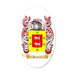 Romeu Oval Car Magnet