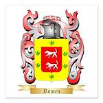 Romeu Square Car Magnet 3