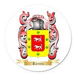 Romeu Round Car Magnet