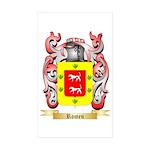 Romeu Sticker (Rectangle 10 pk)