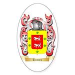 Romeu Sticker (Oval 10 pk)