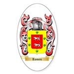 Romeu Sticker (Oval 50 pk)