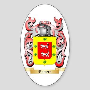 Romero Sticker (Oval)