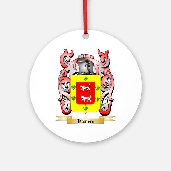 Romero Round Ornament