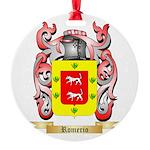 Romerio Round Ornament