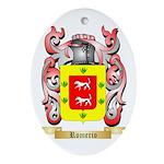 Romerio Oval Ornament