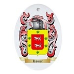 Romer Oval Ornament