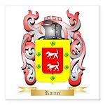 Romei Square Car Magnet 3