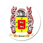 Romei Round Car Magnet