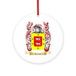 Romei Round Ornament