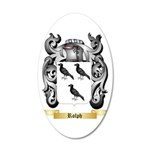 Rolph 35x21 Oval Wall Decal