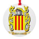 Rollinson Round Ornament